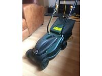 Dobbies 1000w electric lawnmower