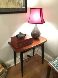 Vintage 1950's dining table and four chairs