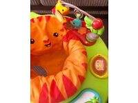 Fisher Price Roaring Rainforest Jumperoo - Great Condition, 360 Spin and Folding