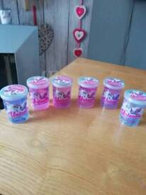 Brand new Pink and purple unicorn poo and figure £2.00 each