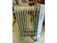 Oil filled radiator