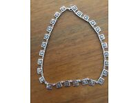 """17"""" Grecian Style Sterling silver necklace"""