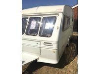 Fleetwood colchester 1991 2 berth with awing
