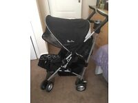 Silver Cross-Pop buggy/pushchair!! With accessories & instructions!!