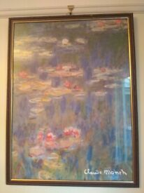 Claude Monet Water Lilies 1916 print/ picture + Frame