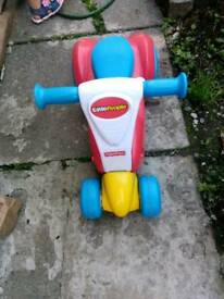 Fisher price 2 in 1 scooter