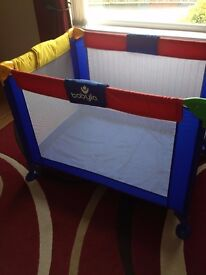 Babylo Multi-Coloured Playpen
