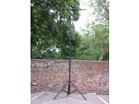 3.5 Metre Dual Telescopic Lighting Stand with Lighting T Bar PRICED TO SELL