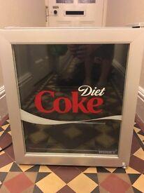 Diet Coke 48ltr mini fridge