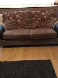 3 seater settee/2seater settee & chair