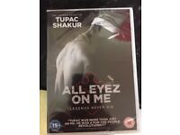 2Pac dvd Brand New unopened New film All eyez on me