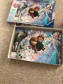 Frozen jigsaw and toy sven