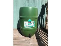 120L water butt barrel