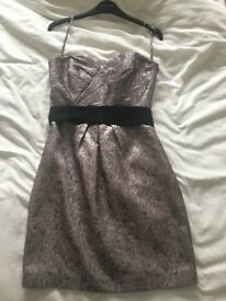 Coast metallic dress size 10
