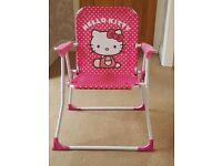 Childrens Chairs - Hello Kitty & Fireman Sam