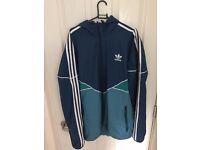 XL Adidas Originals Colorado Windbreaker/ Jacket Shadow Blue/ Blanch Sea