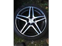 """Set of four 17"""" alloy wheels (MX5)"""