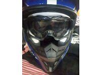 Wulf sport Mx helmet