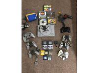 Retro Gaming Bundle - GameBoy Colours, SNES pad & Playstation PS1