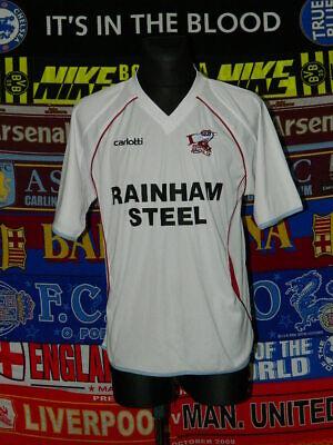 5/5 Scunthorpe United adults L 2009 MINT away football shirt jersey trikot  image