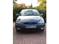 Ford Focus 1.6 i 16v Ghia 4dr (Genuine Low Mileage) – AUTOMATIC, PETROL - 1 SMALL ISSUE