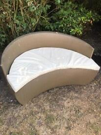 Garden furniture rattan chair