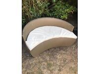 Garden furniture rattan chair