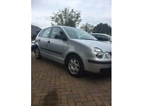 volkswagen polo 1.4 twist 5dr automatic 82,000 miles