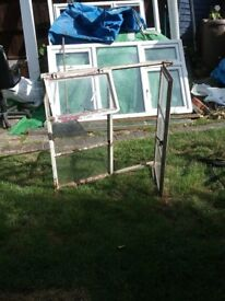 Metal framed Catchment window