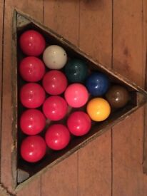 Spare Snooker Balls (Drymen)