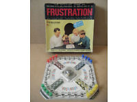 Vintage FRUSTRATION, board game. By Peter Pan games from 1965. Complete.