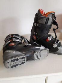 TECHNO 'Diablo Flame' ski boots size 7 1/2