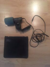 Sony Electret Condenser Stereo Microphone Ecm-929lt Imp. Low Japan