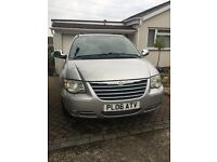 2006 CHRYSLER GRAND VOYAGER LWB LTD 2.8 CRDT XS AUTOMATIC STOW & GO TOP SPEC WITH GOOD HISTORY