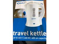 Brand new travel kettle in box