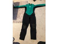 Winter wet suit, age 12 years