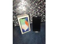 iPhone X - 64gb- unlocked (BOXED/MINT CONDITION)