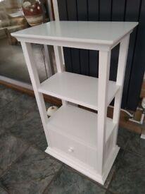 The White Company freestanding bathroom storage unit