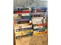 A selection of 51 assorted video tapes