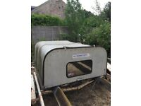 Trailer, Land Rover 110 Ifor Williams canopy