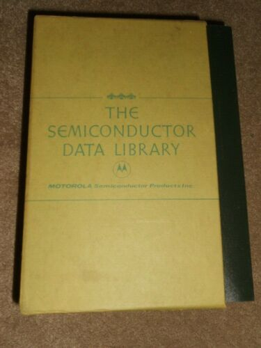 Motorola The Semiconductor Data Library Vol 1-2 And Reference Volume 3 Book Set