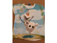 Girls olaf tshirt