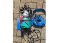 APP SUBMERSIBLE PUMP TPS 200SA - FOR TANKS PONDS ETC - USED ONCE -COST £119.99 ASKING £60.00