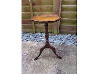Vintage tripod table