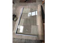 Shower glass fixture for sale, unused brand new surplus