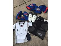Youth ice roller hockey kit padding