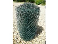 Garden Wire Mesh..Plastic Coated