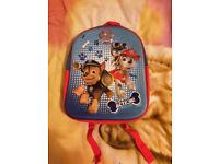 3D Paw Patrol School Bag.