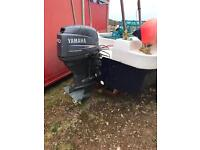 17 foot dory boat and outboard