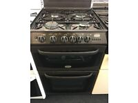 CANNON 55CM ALL GAS COOKER IN BROWN